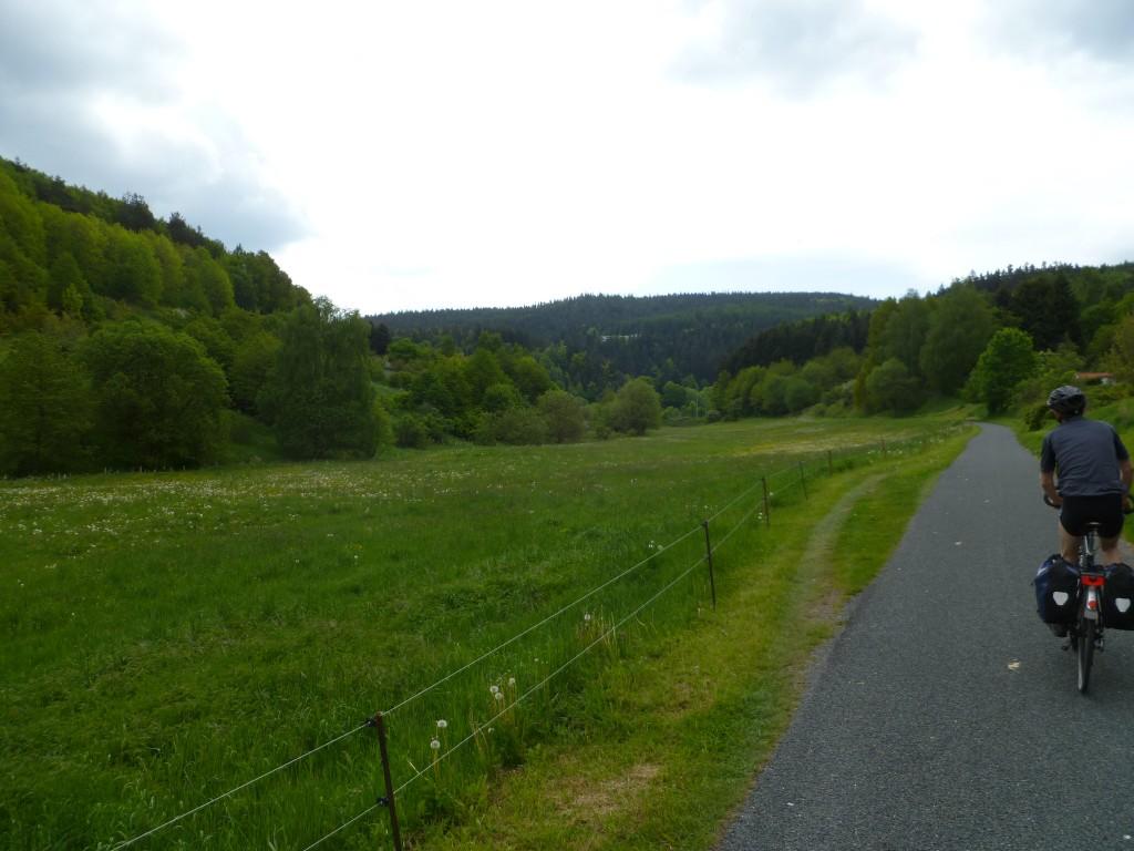 Thüringer Wald - Gera-Radweg