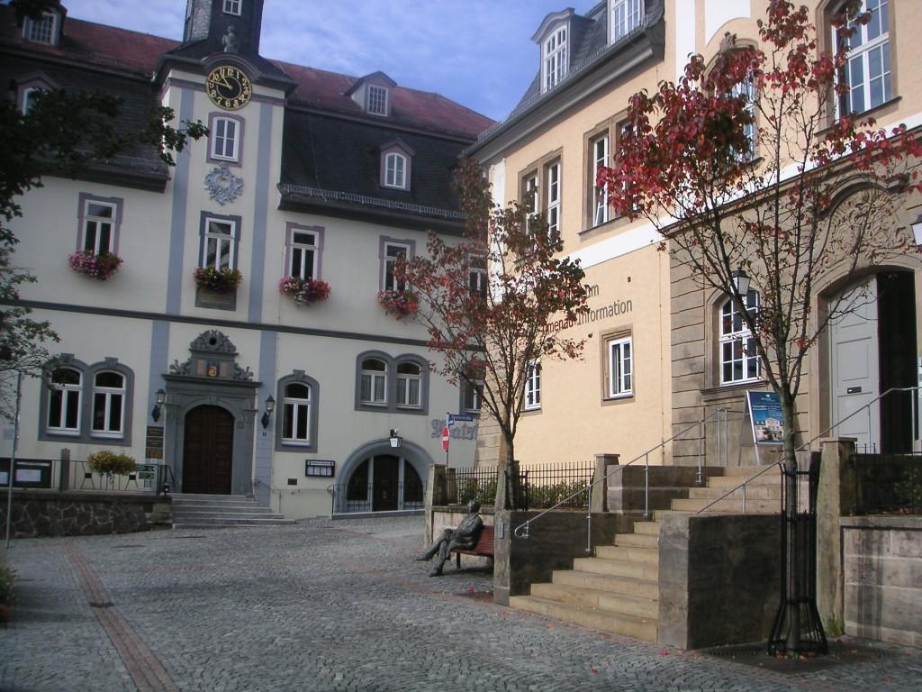 Ilmenau - Marktplatz