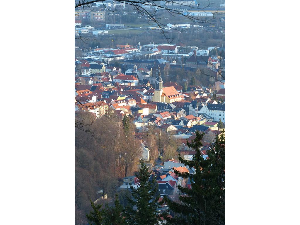Ilmenau - Luftbild