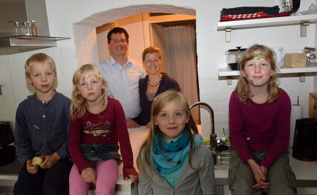 Familie Philipp in der Ferienwohnung