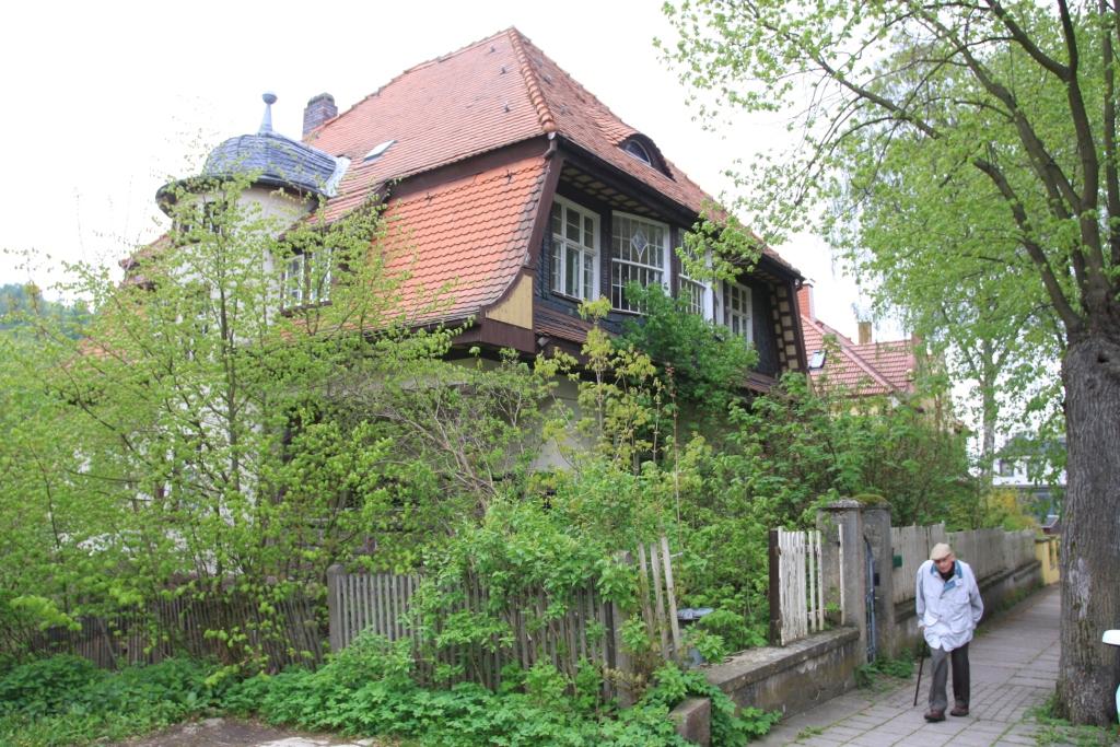 Villa Frübing im Leerstand 2010