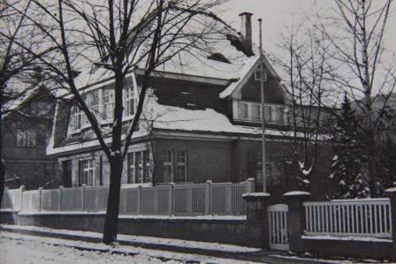Villa Frübing im Winter